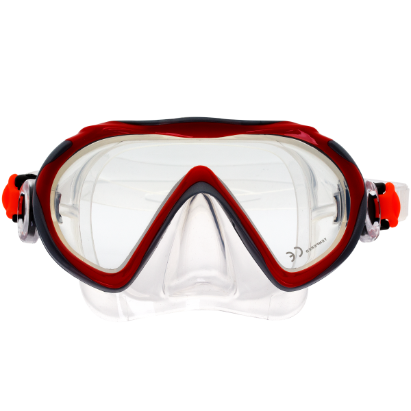 Детские маска для плавания Marlin Joy Red/Silver
