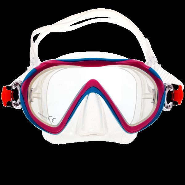 Маска для плавания детская Marlin Joy Pink/Aqua