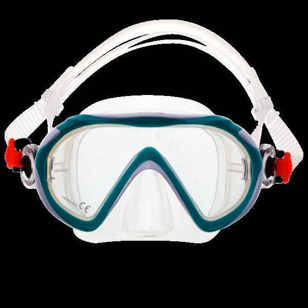Детская подводная маска Marlin Joy Green/White
