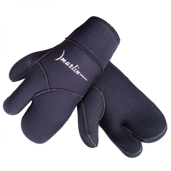 Трехпалые перчатки Marlin Winter 7 мм