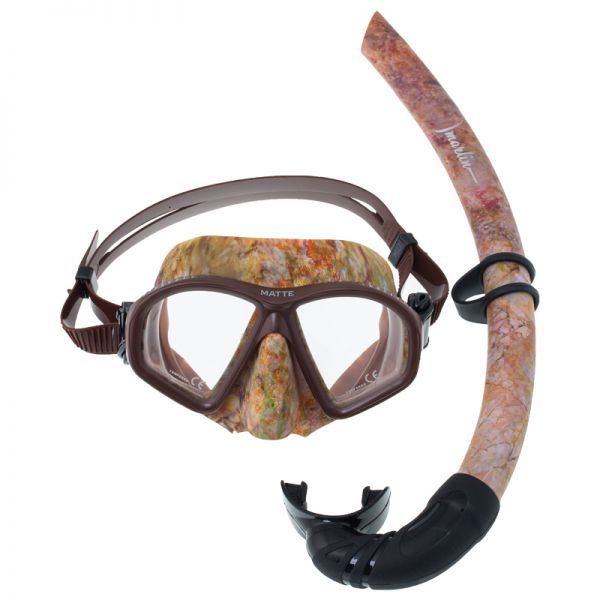 Трубка для подводной охоты Marlin Classic Camo Brown