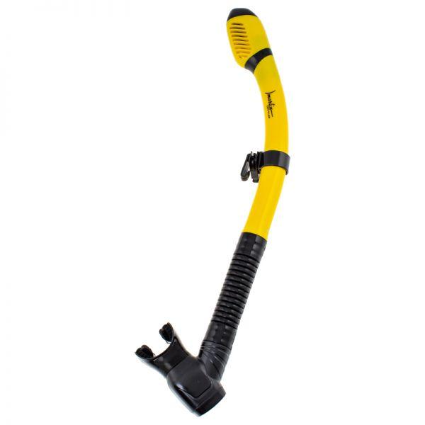 Трубка Marlin Dry Flap Yellow/black