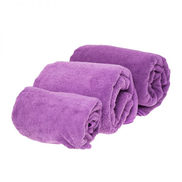 Полотенце из микрофибры Marlin Microfiber Terry Towel Dark Purple