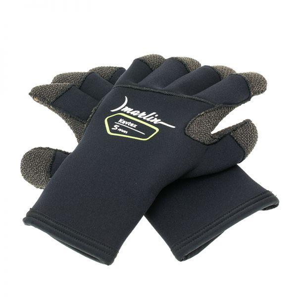 Неопреновые перчатки Marlin Kevtex 5 мм