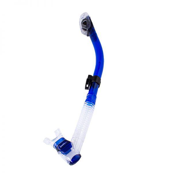 Трубка с клапаном Marlin Dry Lux Blue/Trans