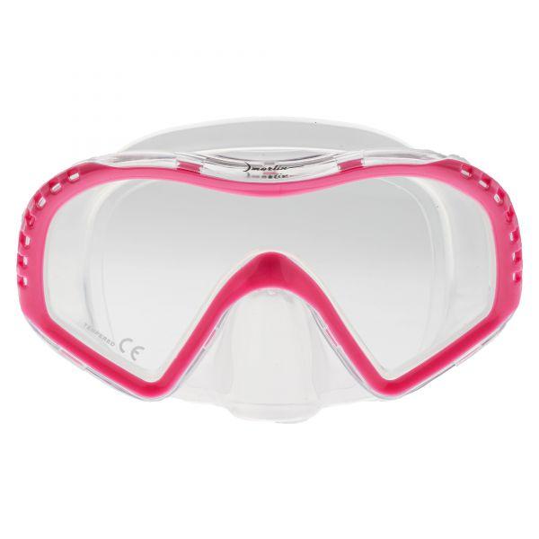 Маска Marlin Look Junior Pink/trans