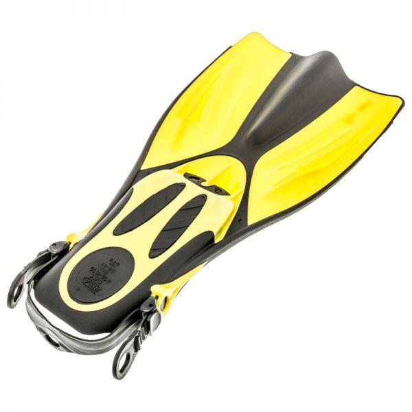 Ласты короткие Marlin Swift Yellow