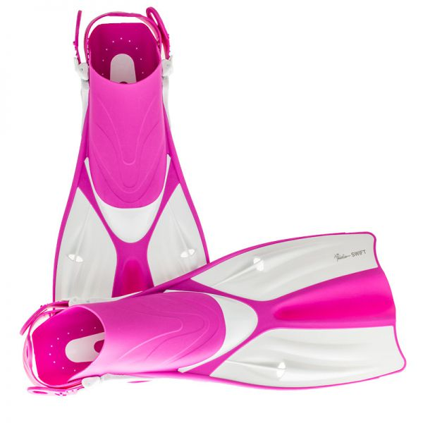 Ласты для плавания в бассейне Marlin Swift Pink