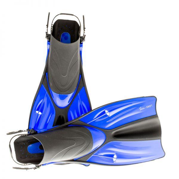 Короткие ласты для плавания Marlin Swift Blue