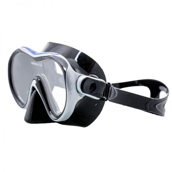 Маска для подводного плавания Marlin Haiti Blue/Silver/Black