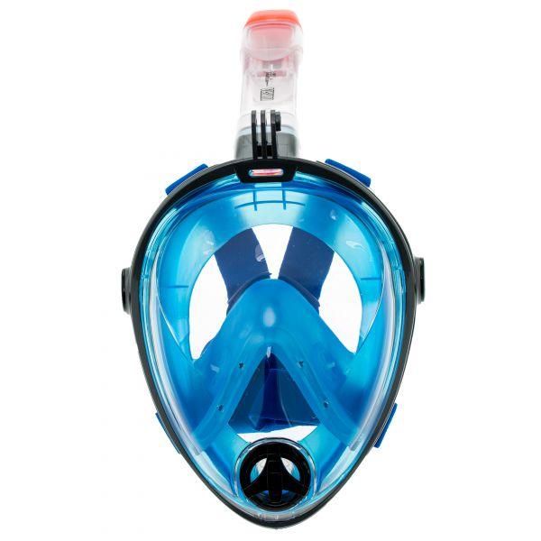 Полнолицевая маска для снорклинга Marlin Vision Grey/blue