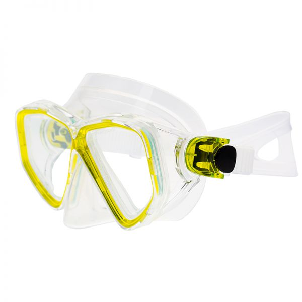 Маска для подводного плавания Marlin Fiji Yellow/trans