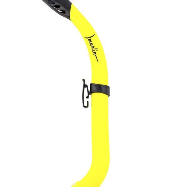 Трубка для подводного плавания детская Marlin Junior Yellow