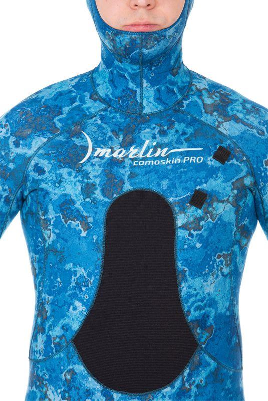 Гидрокостюм Marlin Camoskin Pro Ocean Blue 3 мм