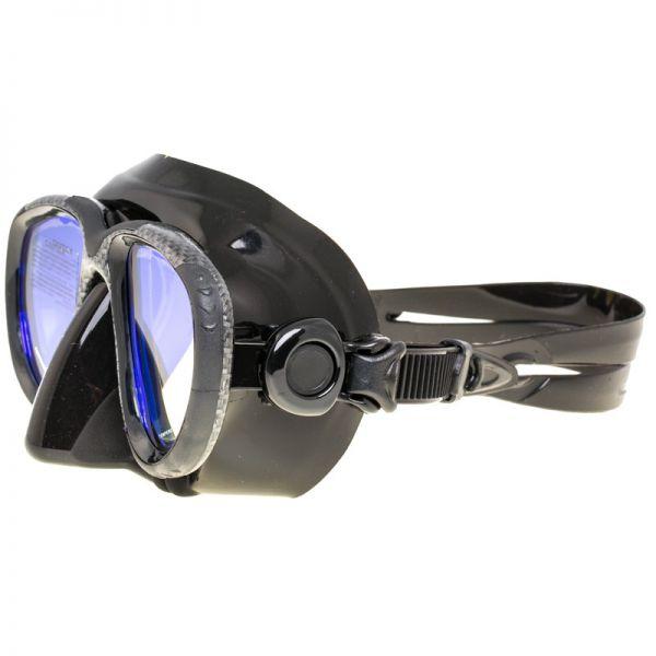 Маска Marlin Hybrid karbon + просветленные стекла