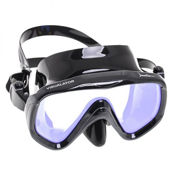 Маска Marlin Visualator + просветленное стекло