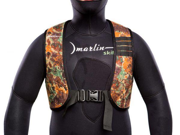 Жилет для подводной охоты быстросъемный Marlin Vest Brown
