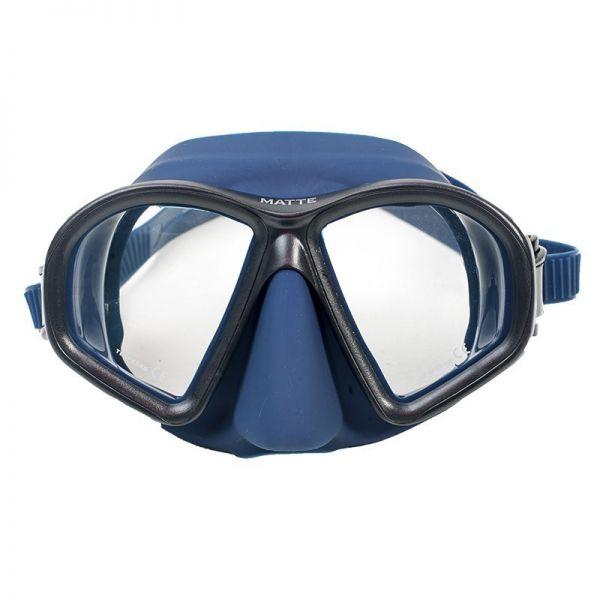 Маска для плавания Marlin Matte Blue