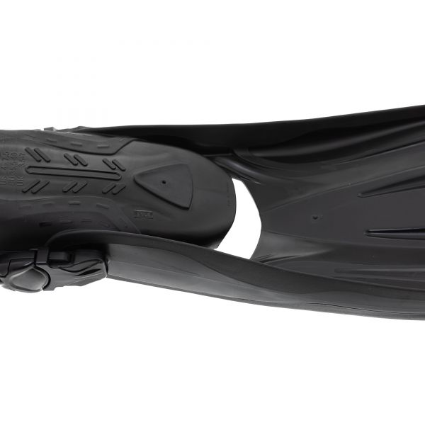 Ласты Marlin Scuba Black (Elastic Bungee Strap)