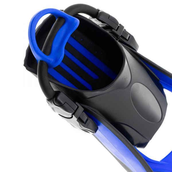 Ласты Marlin Scuba Blue (Elastic Bungee Strap)